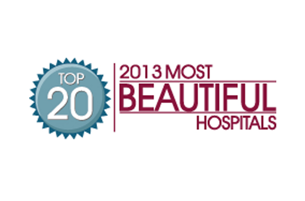 logo for 2013 most beautiful hospitals