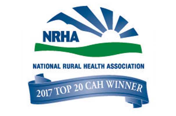 Logo for national rural health association